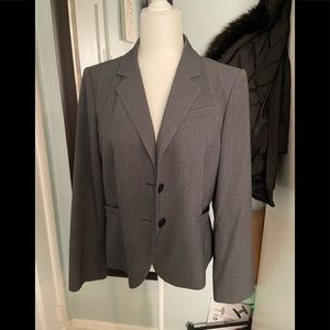 Calvin Klein blazer size 12 color gray